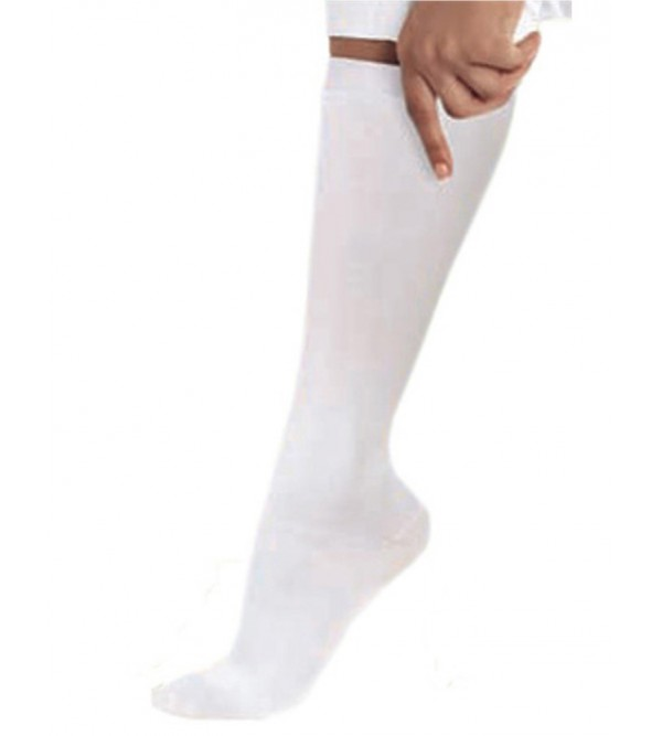 Компресійні жіночі носки до колін LANDAU 14300 (білий)
