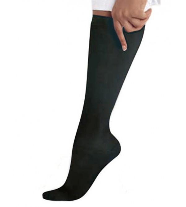 Компресійні жіночі носки до колін LANDAU 14317 (чорний)