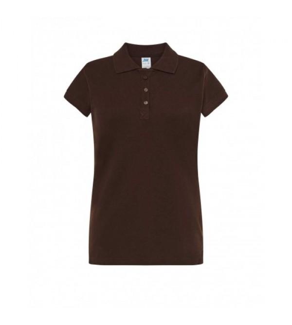 Жіноча футболка-поло з коротким рукавом